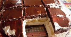 Hozzávalók Piskótához: 40 dkg liszt 250 g Rama 150 g porcukor 12 g vaníliás cukor 1/2 csomag sütőpor 20 ek k... Pastry Recipes, Kids Meals, Tiramisu, Food And Drink, Sweets, Snacks, Cookies, Chocolate, Cake