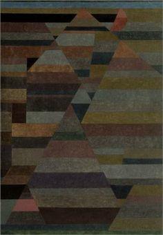 Paul Klee (1879 - 1940) | Abstract Art | Necropolis - 1929