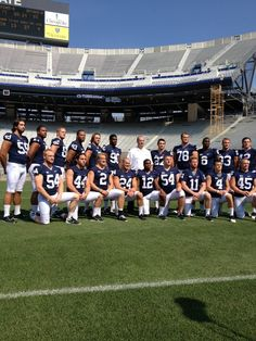 Our 2012 senior class with Coach O'Brien! We Are!