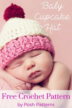 4c19e9c69ae 37 Best (Crochet Cupcake Hat) images