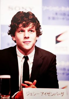 She also has a crush on Jesse Eisenberg. Says he's adorable and dreamy. I agree.