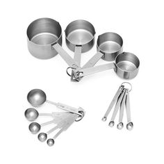 Avanti Baker's Dozen Measuring Sets - - On Sale Now! Liquor License, Stainless Steel Cups, Australia Living, Luxury Holidays, Measuring Spoons, Kitchenware, Zero Waste, House, Organisation