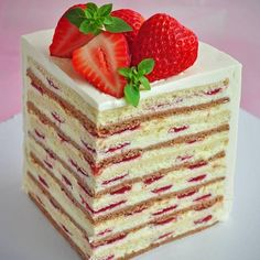 Cake Mix Recipes, Best Dessert Recipes, Sweet Recipes, Russian Cakes, Buttercream Cupcakes, Individual Cakes, Dessert Stand, Cake Decorating Videos, Summer Cakes
