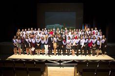 Acte oficial de graduació de la Facultat de Ciències de la Salut de la Universitat Jaume I  Una seixantena d'alumnes de Psicologia participen a l'acte oficial de graduació de la Facultat de Ciències de la Salut de l'UJI