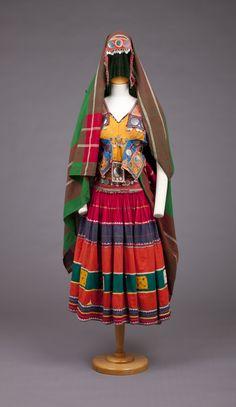Old Banjara dress, 1960-77, India.