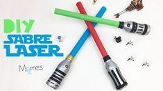 Diy Sabre Laser, Anniversaire Star Wars, Centre, Games, Disney Activities, Red Paint, Pirate Birthday