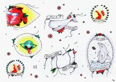 Hitchhiker's Guide To The Galaxy Tattoo Flash Card | Flickr - Photo Sharing!