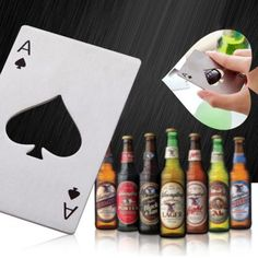 Spades Ace Shape Bottle Opener-1.59 Online Shopping| GearBest.com