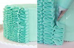 How to Make a Ruffle Cake - Step-by-Step Tutorial