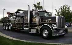Tow Truck, Trucks, Towing And Recovery, Bug Out Vehicle, Peterbilt 379, Vehicles, Truck, Car, Vehicle