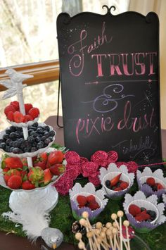 Fairy Party! Faith, Trust, And Pixie Dust. www.celebrationsbykristin.com