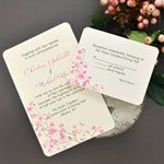 DIY Cherry Blossom Invitations Kit from Wedding Favors Unlimited Free Printable Wedding Invitations, Wedding Invitation Kits, Gold Wedding Invitations, Printable Invitations, Wedding Stationery, Printables, Invitation Ideas, Invites, Floral Invitation