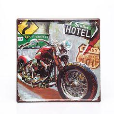 Placa Decorativa Moto - Machine Cult   A loja das camisetas de carro e moto