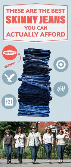 We tested 24 pairs jeans from Old Navy, H&M, Forever 21, Target, and…