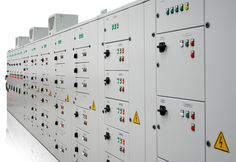 The motor control centers are used in industrial and commercial applications for connecting the individual motors for manually, remotely or automatically starting, stopping, selecting forward and reverse rotation, selecting and regulating the speed, regulating or limiting the torque and protecting against overload, single phasing, reverse phasing, phase imbalance, earth fault, under current, under/over voltage, lock rotor current, high winding temperature etc.