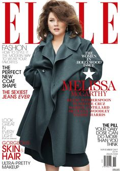 It's Is Cover, Not A Cover Up: Melissa McCarthy On Elle