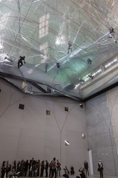 Tomas Saraceno : On Space Time Foam at Hangar Bicocca 2012/2013