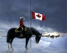 Painting paying tribute to fallen RCMP Members