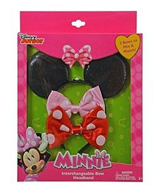 Minnie Mouse 2-Piece Interchangeable Bow Headband - 3-Pie... https://www.amazon.com/dp/B01H10SU5I/ref=cm_sw_r_pi_dp_v-nyxbRSACP3X