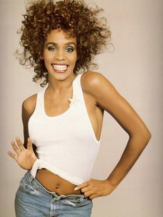 Whitney Houston // she has an eternal influence on music and black female inspiration despite her young death.