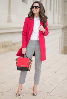 business casual outfits for women you. 8 chic work outfits you can copy! Find here great, inexpensive office outfits inspired by celebrities Spring Work Outfits, Casual Work Outfits, Business Casual Outfits, Professional Outfits, Office Outfits, Work Casual, Work Attire, Office Fashion, Work Fashion