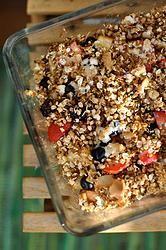 Apple-Berry Crumble with Quinoa