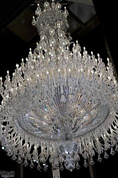 Baccarat Eternal Lights Baccarat Eternal Lights Chandelier – Tokyo.