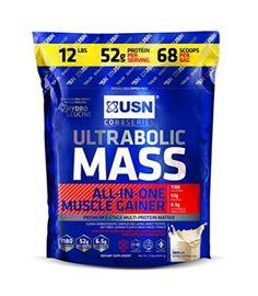 USN Ultrabolic Mass Nutritional Supplement, Vanilla, 12 Pound | #external #SportsNutrition