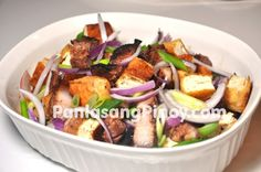 Special tokwat baboy is a variation that uses grilled pork belly or inihaw na liempo. This is more flavorful and can even be enjoyed as a main dish. Filipino Dishes, Filipino Recipes, Pinoy Recipe, Filipino Street Food, Filipino Food, Great Recipes, Favorite Recipes, Cooking Recipes, Healthy Recipes