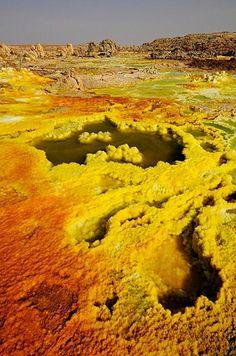 The Salt Lakes of Ethiopia