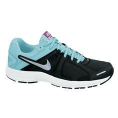 #Nike Dart 10 zwart/wit/lichtblauw (neutraal) dames bij #Hardloopaanbiedingen.nl #hardlopen