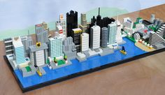 Minecraft City Buildings, Lego City, Lego Architecture, Unique Architecture, Lego Projects, Diy Projects For Teens, Lego Titanic, Lego Boat, Micro Lego