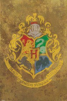 Harry Potter - Hogwarts Crest - Official Poster