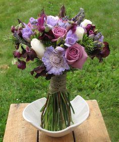 Rose, Sweet Pea Bouquet