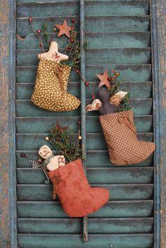 Merry Little Christmas, Primitive Christmas, Christmas Love, Country Christmas, All Things Christmas, Christmas Crafts, Christmas Decorations, Christmas Ornaments, Christmas Patterns