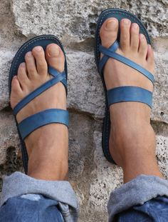 Cute Leather Sandals #sandalishop