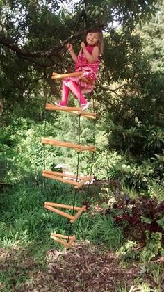 Wooden Climber Or Monkey Bars Kit Assembled By Yourself