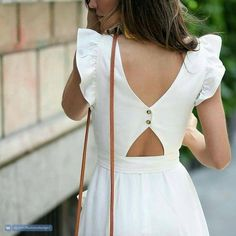 Summer Fashion For 70 Year Olds romantic dress.Summer Fashion For 70 Year Olds romantic dress Cute Dresses, Casual Dresses, Fashion Dresses, Glam Dresses, Back Dresses, Ladies Dresses, Simple Dresses, Cotton Dresses, Mode Outfits