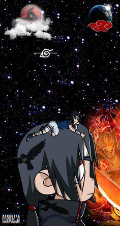 Naruto Anime, Naruto Art, Naruto Shippuden Anime, Itachi Uchiha, Naruto Phone Wallpaper, Wallpaper Naruto Shippuden, Best Naruto Wallpapers, Cool Anime Wallpapers, Anime Drawing Styles
