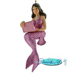 December Diamonds Liz Mermaid Ornament