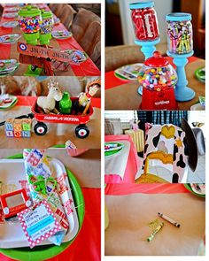"Photo 4 of 53: Woody's Roundup {inspired by Toy Story} / Birthday ""Boston's 2nd Birthday Party"""