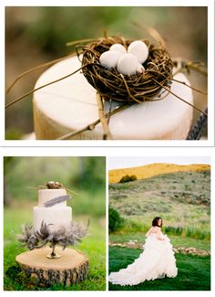 Love Birds Inspired Wedding