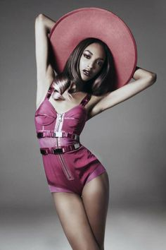 Jourdan Dunn. Photographed by Damon Baker