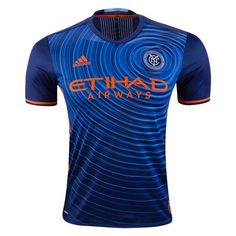 adidas New York City FC Authentic Away Jersey 2017