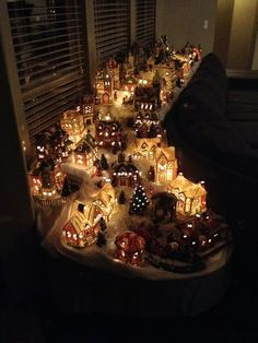 tulsa tiny stuff christmas village 2013 the new house christmas village sets - Best Christmas Village Sets