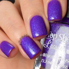 Top Shelf Lacquer: Purple Flip Flop
