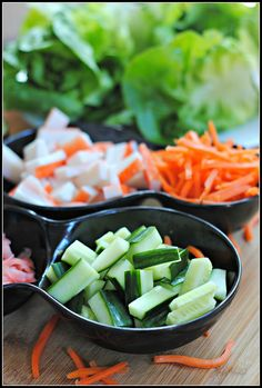 California Roll Lettuce Roll-Ups