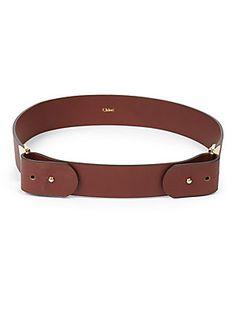 Chloé Calfskin Belt