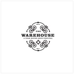 The Warehouse - A Year Round Arts Festival - logo design by Fused Interactive