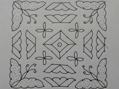 Rangoli designs/Kolam: [S.No 13 Pulli 13 Varisai Butterfly Kolam Rangoli Designs Latest, Rangoli Kolam Designs, Rangoli Designs With Dots, Rangoli Designs Images, Rangoli With Dots, Beautiful Rangoli Designs, Simple Rangoli, Easy Flower Drawings, Small Rangoli Design